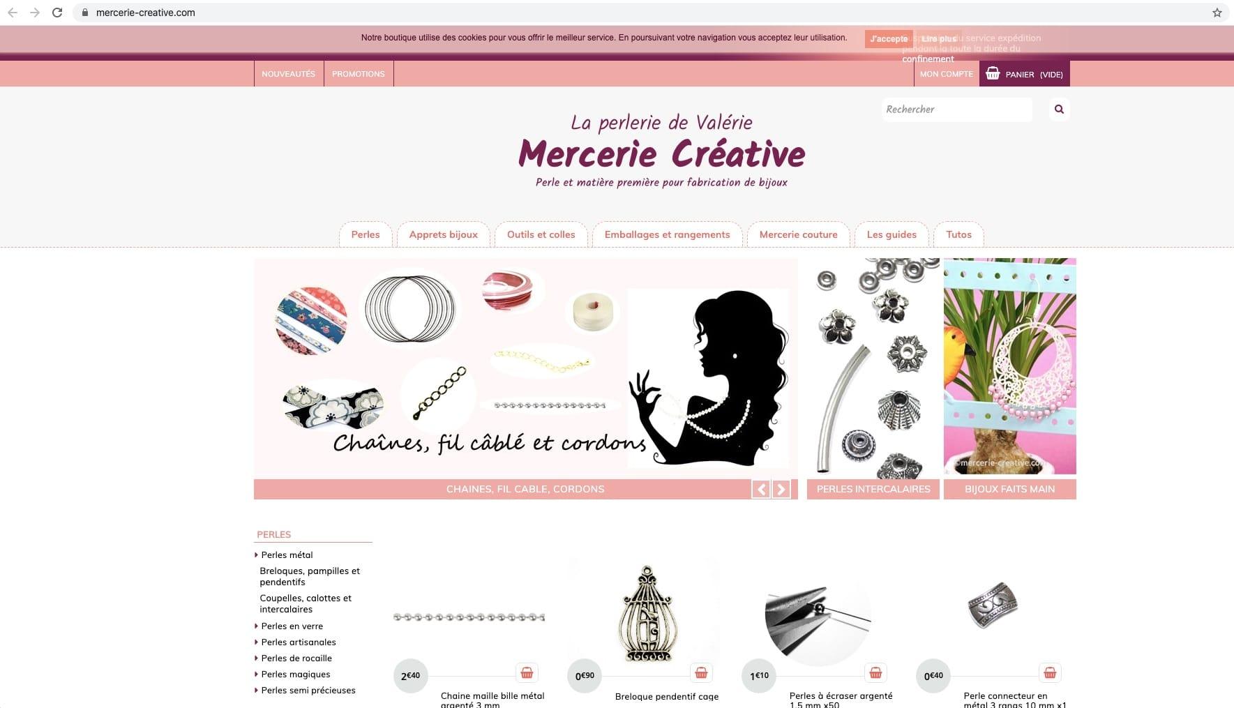 Création de l'identité visuelle d'un site e-commerce
